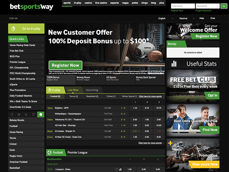 Betway Deposit Bonus 2018 Exclusive 100 Sign Up Bonus